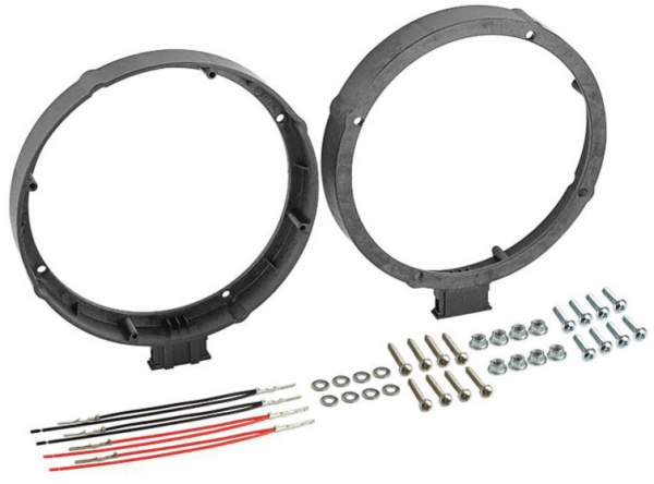 Lautsprecher Adapter Ringe Set für Skoda Octavia 09//1996-03//2004 165mm