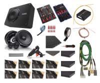 VW Crafter 2 / MAN TGe | Subwoofer + Lautsprecher + Verstärker (DSP) + Dämmung | V3 | Option