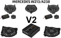 Mercedes E-Klasse W213 / A238 Soundpaket | Option V2