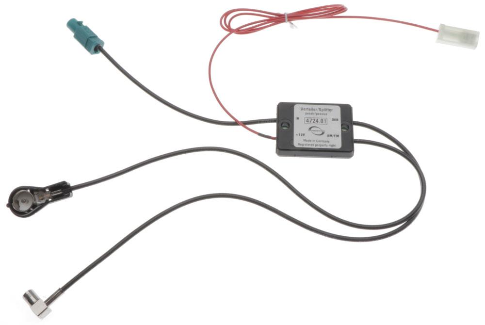 dab splitter f r wohnmobil antenne dab antennen. Black Bedroom Furniture Sets. Home Design Ideas