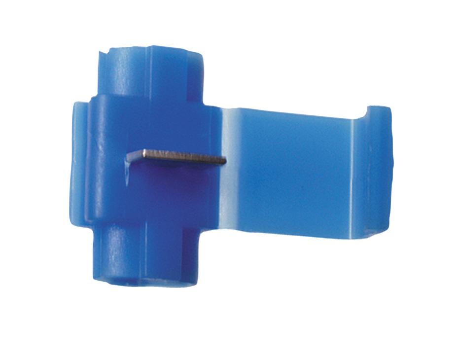 Abzweigverbinder blau bis 25qmm Stromdieb - 10 Stück