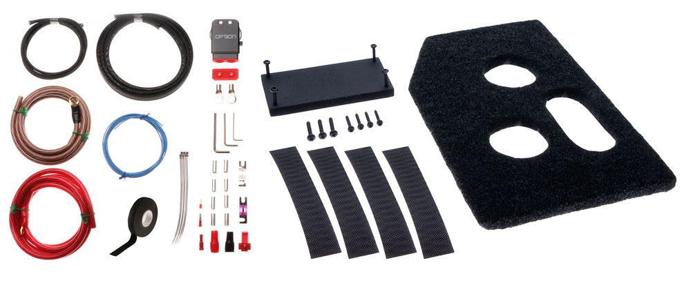 BMW Verstärker Installationskit für Boxmore
