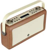 View Quest Hepburn MkII Radio DAB+, Bluetooth, Brown