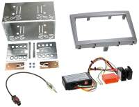 Autoradio-Einbauset für Porsche Boxster  für 2-DIN-Autoradios-Clarion