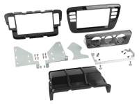 Radioblende 2-DIN Skoda Citigo, Seat Mii, VW up! - Piano Black