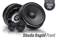 Skoda Rapid Option Lautsprecher Front