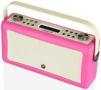View Quest Hepburn MkII Radio DAB+, Bluetooth, Pink
