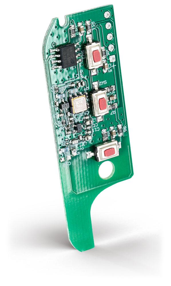 Thitronik Umrüstplatine für den Fahrzeugschlüssel