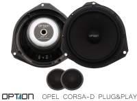 Opel Corsa-D Option Lautsprecher Front