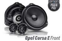 Opel Corsa E Lautsprecher Set Plug & Play