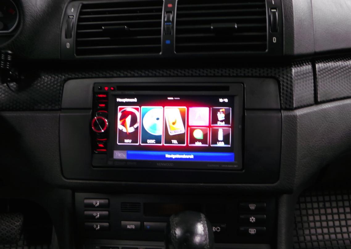 2-DIN Autoradio Einbau BMW E46