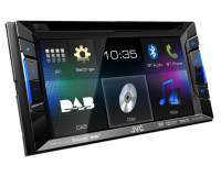 JVC KW-V215DBT Autoradio 2-DIN mit Touchscreen, Bluetooth, DAB+ und USB