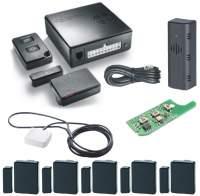 Thitronik WiPro III Safelock Fiat Ducato Alarmanlagen-Paket (schwarze Kontakte)