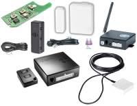 Thitronik WiPro III Safe.Lock Fiat Ducato Alarmanlage inkl. Fahrzeugortung (weisse Kontakte)