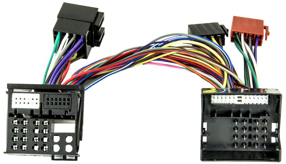 PP-AC 88 T-Kabelsatz VW Skoda Quadlock