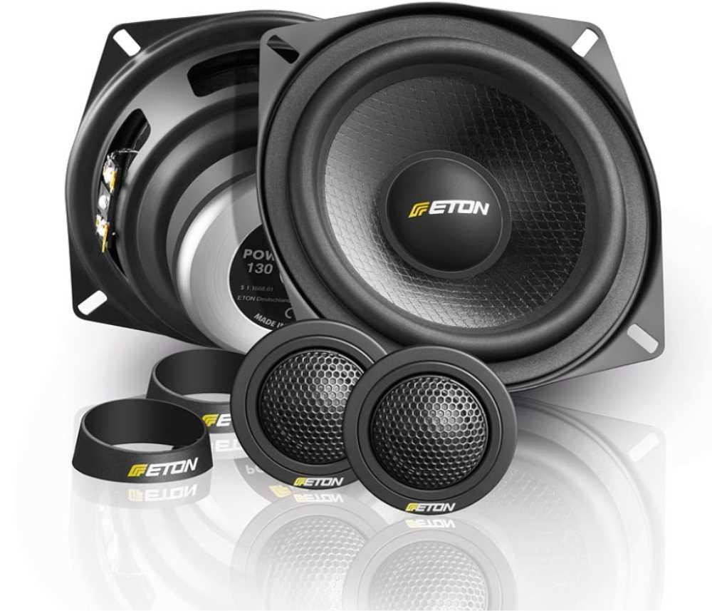 Lautsprecher System 165mm Boxen Kompo 16,5cm mit Hochtöner und Weichen