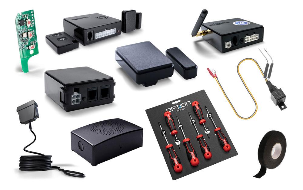 Thitronik WiPro III Safelock Fiat Ducato Alarmanlage inkl. Fahrzeugortung und Bluetooth schwarze Ko