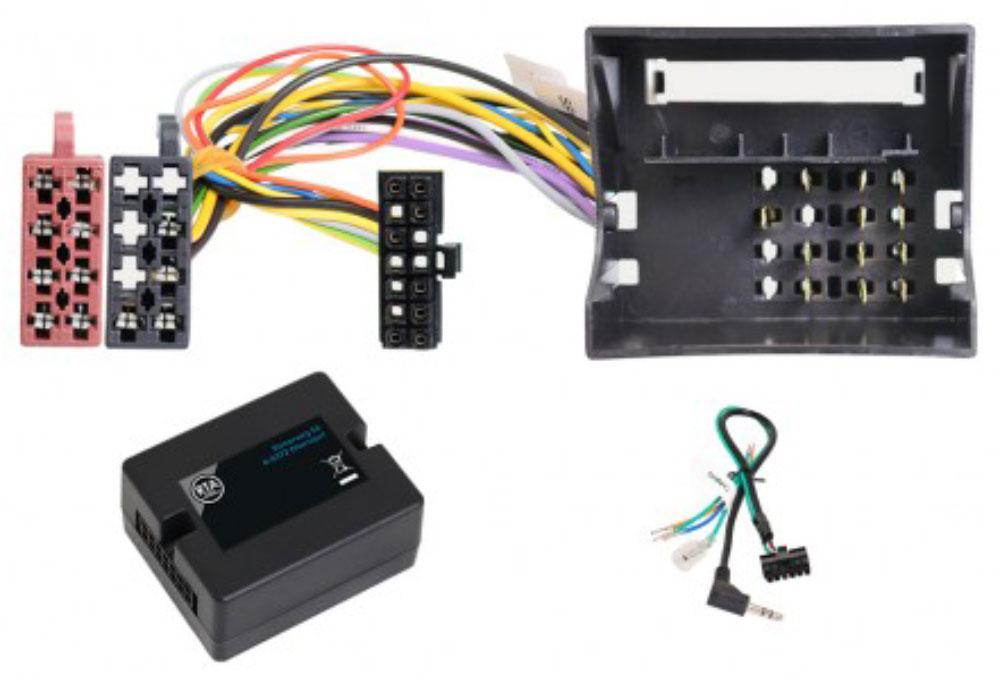 Lenkradfernbedienung-Adapter Opel Quad-Lock mit S-Kontakt