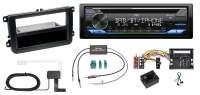 1-DIN DAB+ & Bluetooth Autoradio Skoda Octavia 1U mit LFB