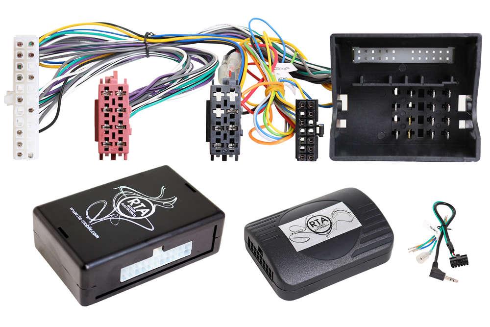 CAN BUS ADAPTER und Aktivsystemadapter mit Lenkradsteuerung für Audi Skoda VW ab ca. 2006