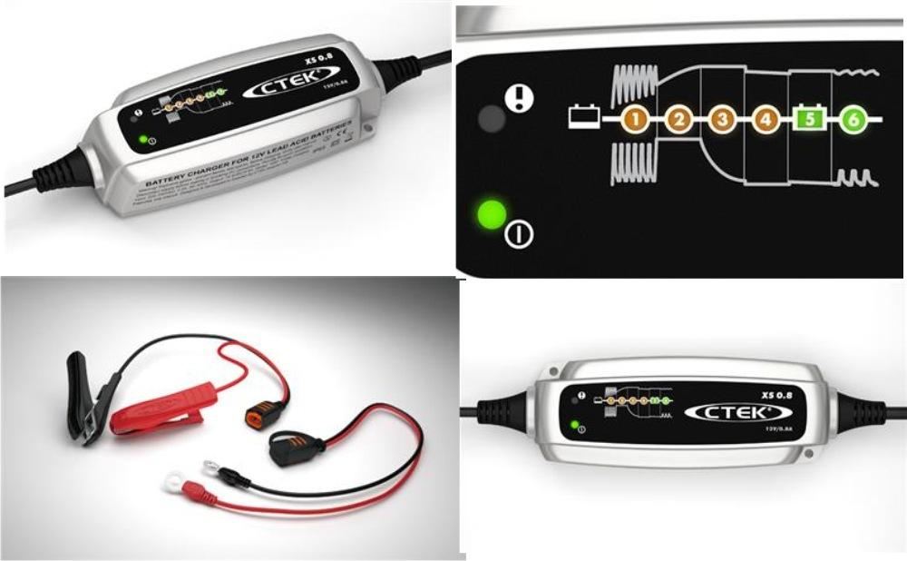 ctek batterie ladeger t xs 0 8. Black Bedroom Furniture Sets. Home Design Ideas