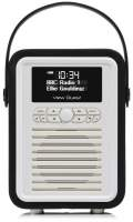 View Quest Retro Mini Radio mit Bluetooth, Black