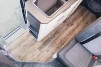 Teppich für Wohnmobil Adria 640-2019 im Holzlook - helle Eiche - Selbsthaftend