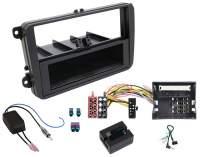 VW Scirocco 1-DIN Radio-Installationskit mit LF