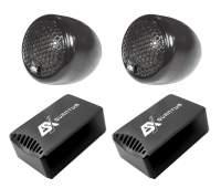 ESX QX6.2BT Tweeter 250 Watt+Aufbaugehäuse