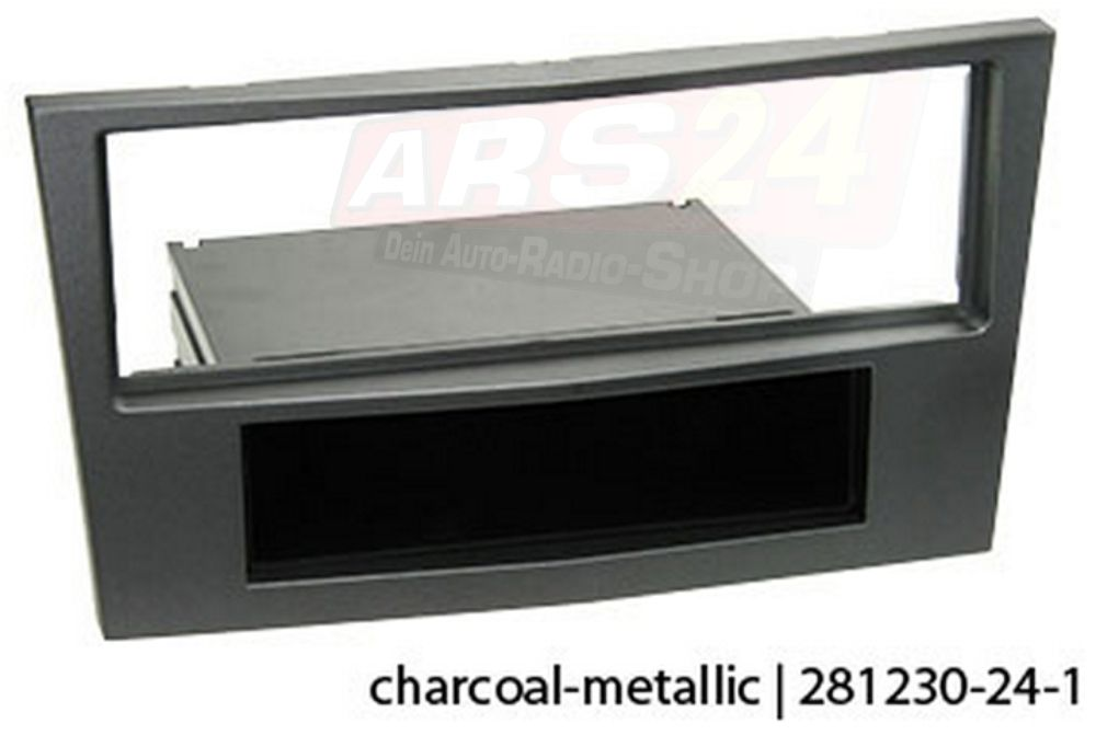 Radioblende Opel Astra H charcoal-metallic