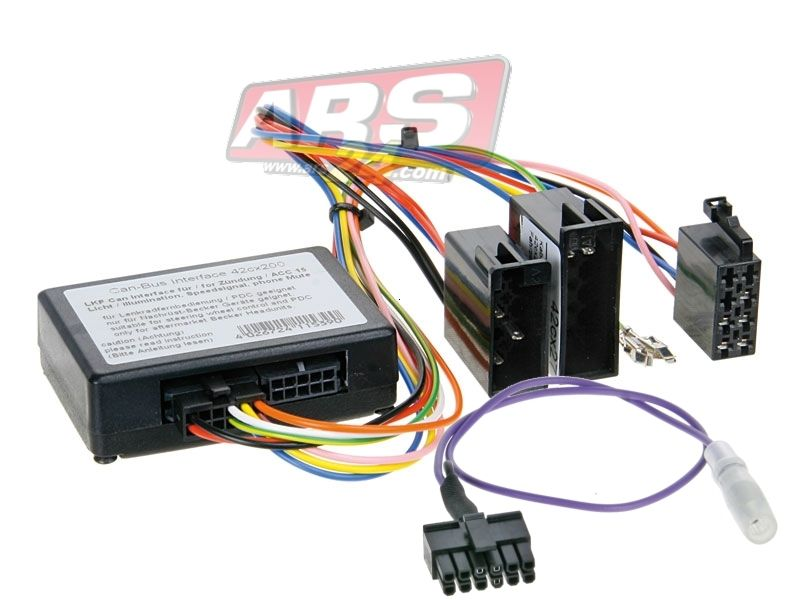 Lenkrad-Interface Mercedes --> Kenwood ( 42-1190-701 )