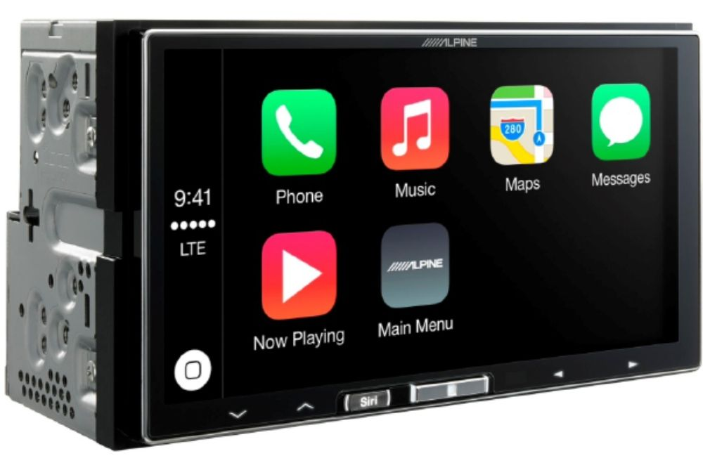 alpine ilx 700 autoradio mit apple carplay. Black Bedroom Furniture Sets. Home Design Ideas