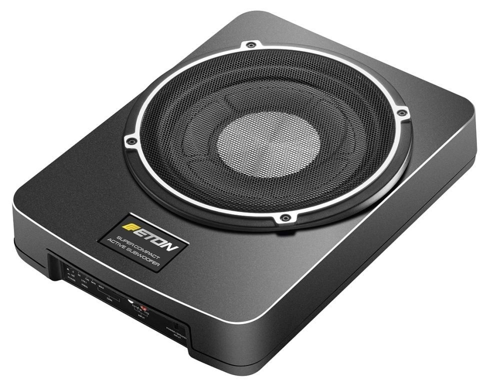 eton usb10 25cm aktivsubwoofer aktivbass 250mm untersitz. Black Bedroom Furniture Sets. Home Design Ideas