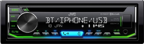 jvc kd r992bt 1 din autoradio mit bluetooth cd aux usb. Black Bedroom Furniture Sets. Home Design Ideas