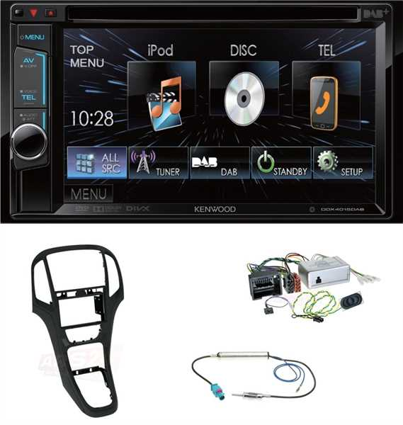 usb autoradio opel astra j einbau set autoradio ars24 car hifi shop autoradios und car. Black Bedroom Furniture Sets. Home Design Ideas