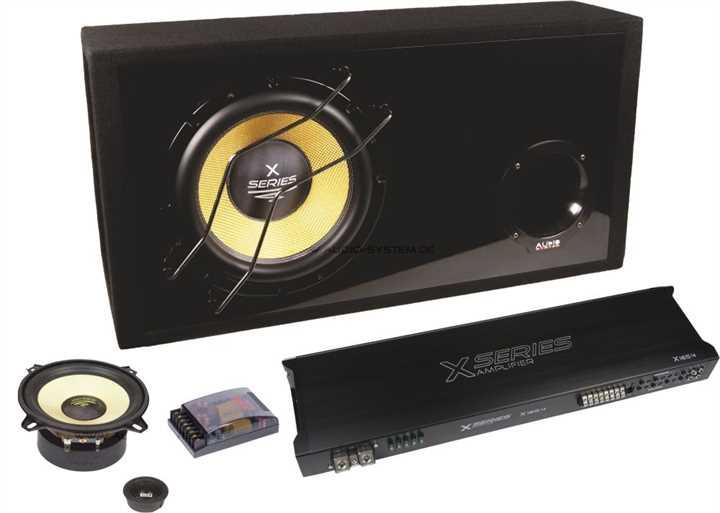 audio system x series komplett set 130. Black Bedroom Furniture Sets. Home Design Ideas